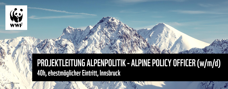 Projektleitung Alpenpolitik (w/m/d)